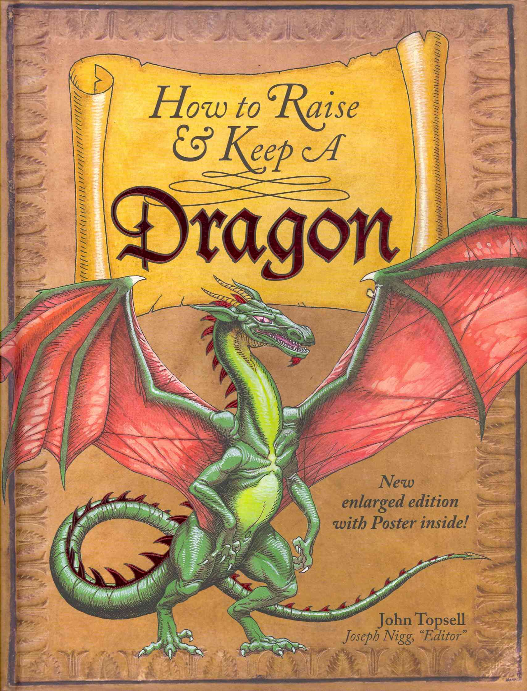 How to Raise and Keep a Dragon By Topsell, John/ Nigg, Jospeh (EDT)